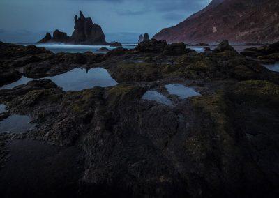 nature photo Canary islands tenerife benijo beach
